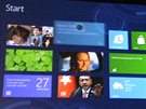 Windows 8 pro ARM čipy se v Metro rozhraní neliší od běžných. Samozřejmě nemají