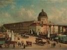 Z�mek v Berl�n�. P�vodn� malba z 19. stolet�