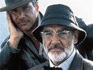 Harrison Ford a Sean Connery ve filmu Indiana Jones a Posledn kov vprava