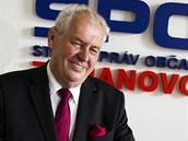 Bývalý premiér Miloš Zeman už má více než 50 tisíc podpisů a oficiálně oznámil
