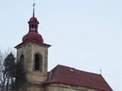 Kostel sv. Matou�e v Dolanech na Ji��nsku.