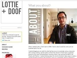 Tim začal blogovat před čtyřmi lety.