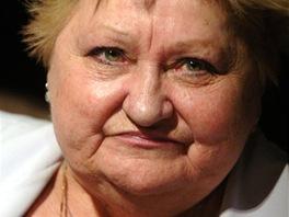 Herečka a moderátorka Eva Klepáčová