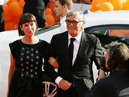 Zahájení karlovarského festivalu 2012 - prezident přehlídky Jiří Bartoška s