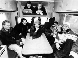 Ještě v roce 2002 jezdila skupina Kryštof na koncerty v obytné avii, Richard