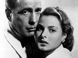 Z filmu Casablanca s Humphreym Bogartem a Ingrid Bergmanovou (1942)