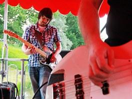 Pardubická skupina Ready Kirken pokřtila své nové album na parníku Arnošt.