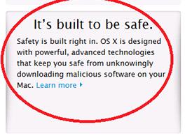 Nový text na anglické strínce firmy Apple říká jen, že její počítače jsou