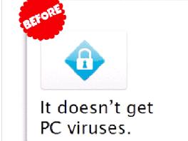 Původní verze textu jasně říkala, že na Macu se viru nemusíte obávat