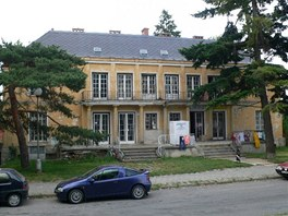 Zchátralá vila rodiny Stratilů, která se nachází v olomoucké ulici Čajkovského.