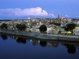 Provence, pohled na Arles