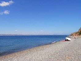 Lesbos, pláž Eftalou