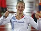 MISTRYN� EVROPY. Ji�ina Pt��n�kov� na evropsk�m �ampion�tu z�skala zlatou medaili.