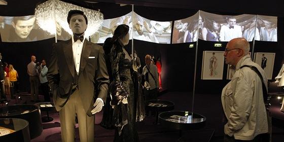 Z londýnské výstavy věnované Jamesi Bondovi