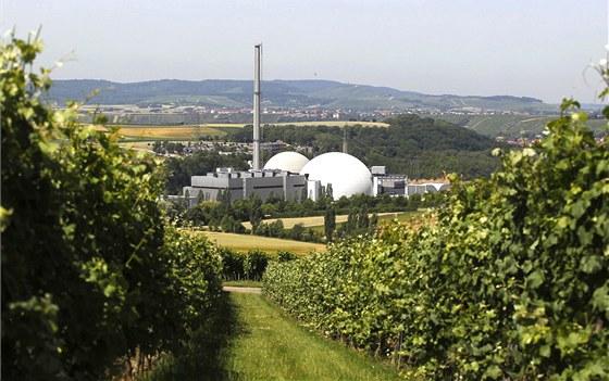 Jaderná elektrárna v německém Neckarwestheimu (ilustrační snímek)
