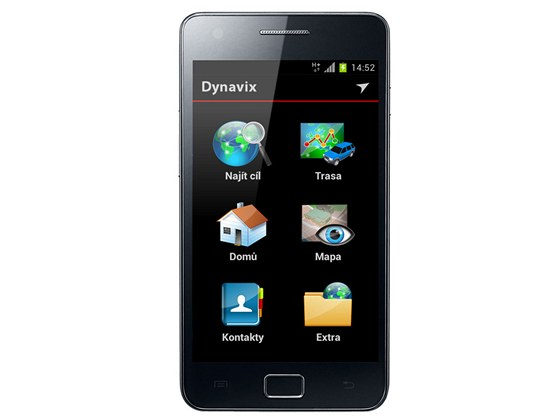 Navigace Dynavix pro Android