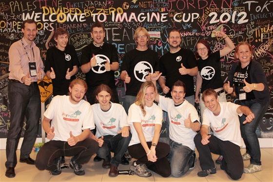 České týmy na Imagine Cup 2012