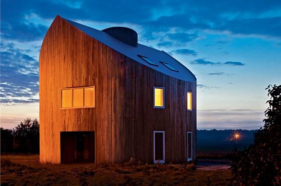 Nejdražší na domě byly dřevěné prvky a fasáda. Baronovi si zvolili cedr.
