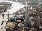 Otev�en� nejvy���ho mrakodrapu v Evrop�, The Shard, doprovod� velkolep�