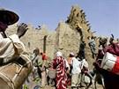Islamisty z�ejm� vyprovokoval krok OSN, jeho� agentura UNESCO za�adila hrobky v...