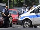 Policejn� z�sah v Karlsruhe (4. �ervence 2012)