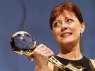 Americká herečka Susan Sarandonová převzala 7. července na závěrečném