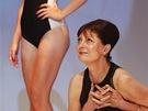 Susan Sarandonová na závěrečném udílení cen karlovarského filmového festivalu