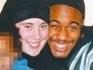 Samantha Lewthwaite na archivn�m sn�mku s Jermainem Lindsayem