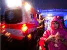 Vodní a větrná smršť si vyžádaly i několik zranění. (5. července 2012)