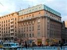 Dům na rohu Václavského náměstí a Opletalovy ulice pochází z roku 1880.