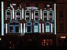 Festival světla a videomappingu v Olomouci 2011.