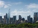 Mrakodrap nazvan� One57 se za 1,5 miliardy dolar� stav� na 57. ulici uprost�ed...