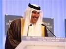 Katarský premiér šajch Hamad bin Džasím bin Džabr Sání