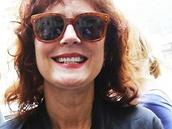 Susan Sarandonová po příjezdu do Karlových Varů