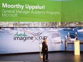 Moorthy Uppaluri, generální ředitel akademického programu Microsoftu: