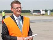 Jiří Kraus, výkonný ředitel letiště pro rozvoj a správu majetku