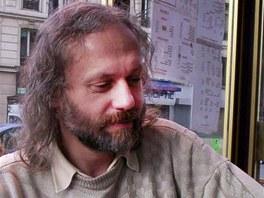 Básník a literární historik Petr Hruška