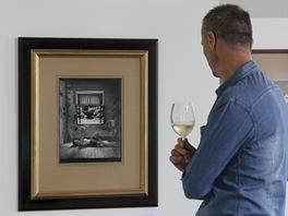 Z výstavy fotografií Jana Saudka
