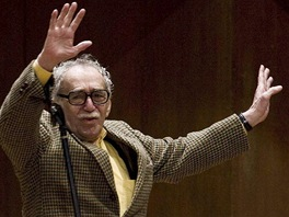 Kolumbijsk� spisovatel a nositel Nobelovy ceny za literaturu Gabriel Garc�a