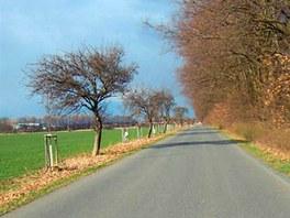 Romantická silnička na Křivoklátsku