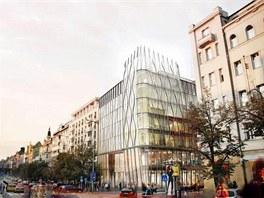 Takto by měl vypadat nový dům na rohu Václavského náměstí a Opletalovy ulice