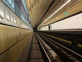 Kolejiště stanice Nám. Míru