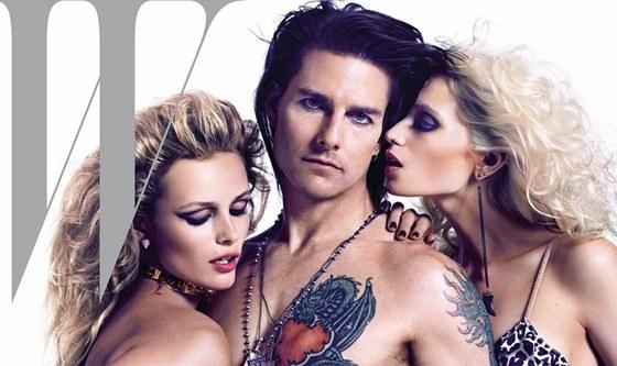Obletovaný. Tom Cruise na obálce magazínu W