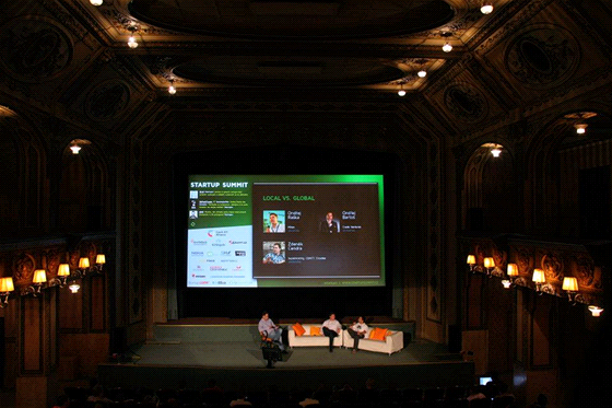 Startup Summit v Lucerně v Praze (pořadatel: TyInternety.cz)