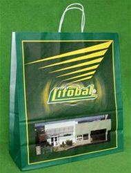 papírová taška Litobal