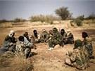 Tuaregové v Mali. Nomádští separatisti počátkem roku 2012 jednostranně...