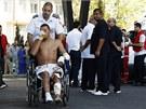 Do Burgasu přiletěli izraelští zdravotníci, kteří v nemocnici vyzvedli