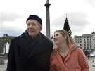 Peter O'Toole a Jodie Whittakerová ve filmu Venuše