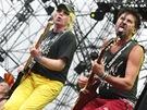 Visací zámek na festivalu Masters of Rock 2012