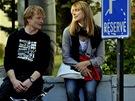 Mat�j H�dek a Eva Leimbergerov� ve filmu Posel